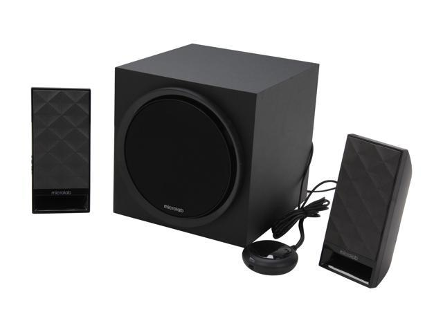 Microlab SP-M850BK 2.1 Subwoofer Speaker for PC and Multimedia Entertainment (Black)