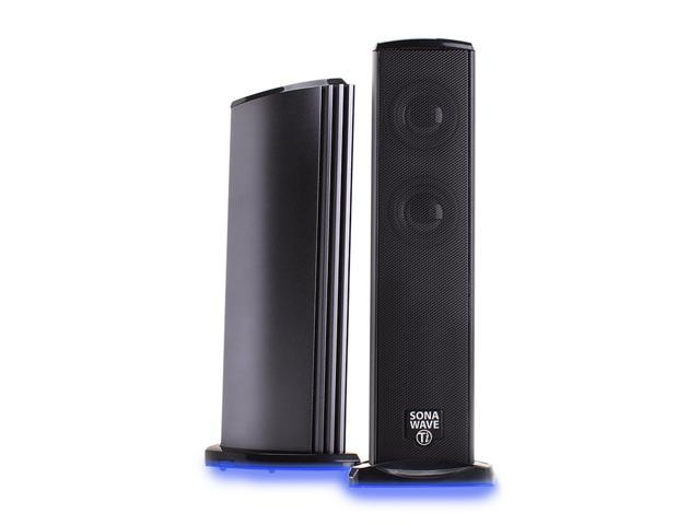 GOgroove Professional Series GG-SONAVERSE-TI 2.0 SonaWAVE Ti Full-Range USB Powered Speakers