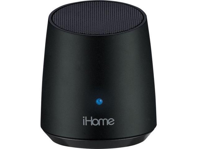 iHome iBT69 Speaker System - 3 W RMS - Wireless Speaker(s) - Black