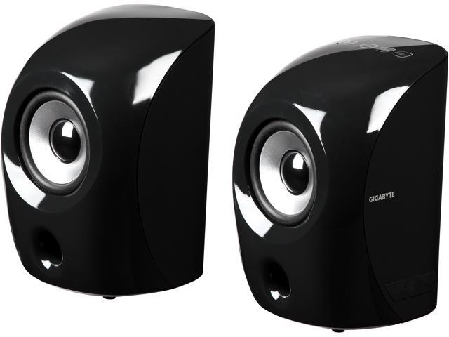 Gigabyte GP-S3000 BLK 2.0 Speakers - Black