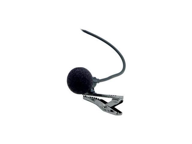 AZDEN EX505U Black 3.5mm Connector Uni-Directional Lavalier Microphone