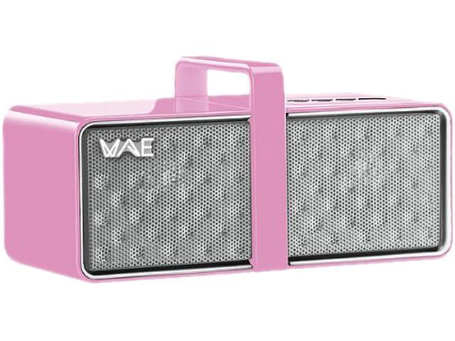 Hercules BTP03 Speaker System - 4 W RMS - Wireless Speaker(s) - White, Pink