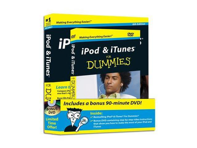 iPod & iTunes For Dummies DVD + Book Bundle 6th Edition
