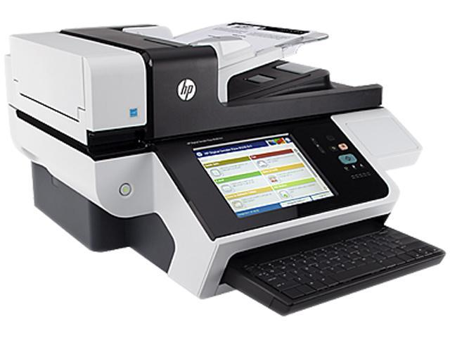 HP Digital Sender Flow 8500 fn1 1 Hi-Speed USB Host (rear) 1 Hi-Speed USB Host (walk-up) Interface Flatbed Scanner