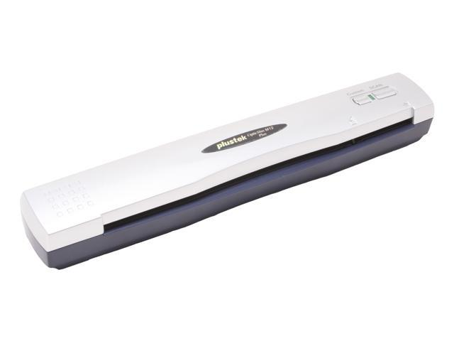 Plustek OpticSlim M12 Plus 48bit CIS Fast Single Pass, Mobile scanner, and Portable scanner 600 dpi Hardware Resolution Scanner