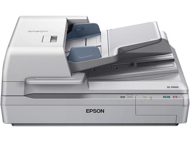 EPSON WorkForce DS-70000 (B11B204321) Input: 16 bit / pixel / color Output: 8 bit / pixel / color CCD 600 dpi Duplex Document Scanner