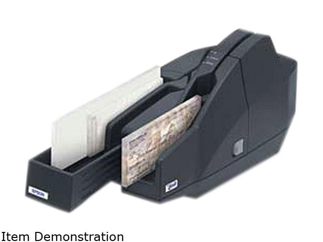 Epson CaptureOne TM-S1000 Single-Feed Desktop Check Scanner with Ranger - Dark Gray A41A266A8941