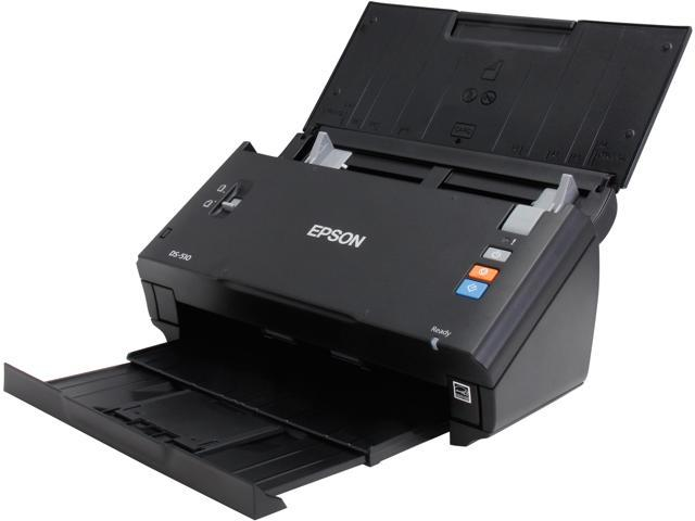EPSON WorkForce DS-510 ( B11B209201 ) 48-bit internal/24-bit external (Color) 16-bit internal/8-bit external (Grayscale) CIS 600 x 600 dpi Sheet-fed, one pass duplex color scanner Document Scanner