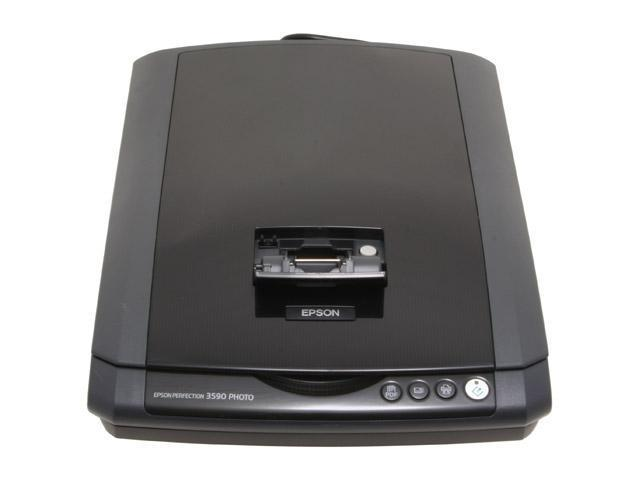 EPSON Perfection 3590 B11B177091 3200 x 3200dpi 48bit Hi-Speed USB 2.0 Interface Flatbed Scanner