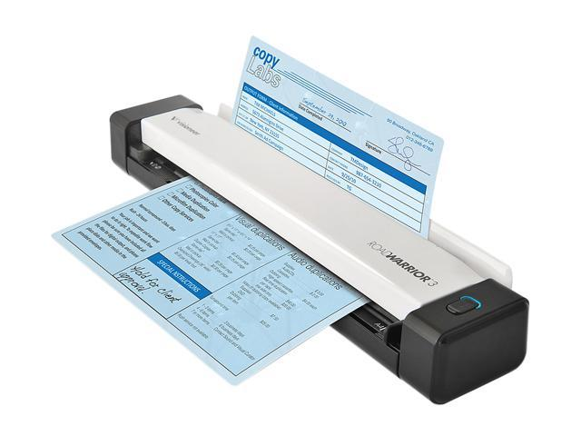 Visioneer RoadWarrior 3 (RW3-WU) Sheetfed Scanner w ...
