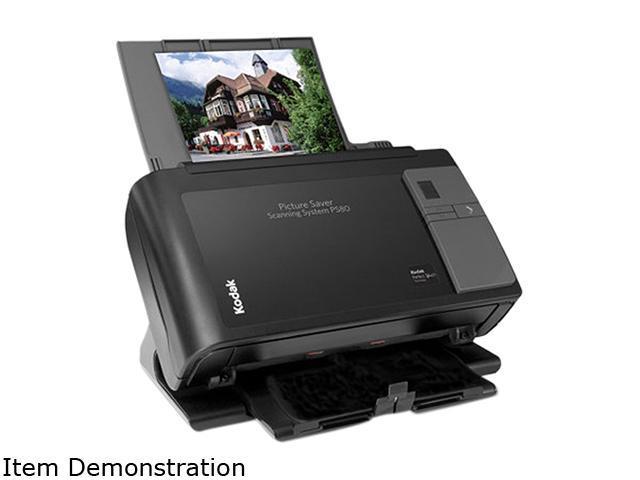 Kodak PS 80 (1099183) 48 bit Dual CCD 600 x 600 dpi Photo Scanner w/ 75 sheets Feeder capacity