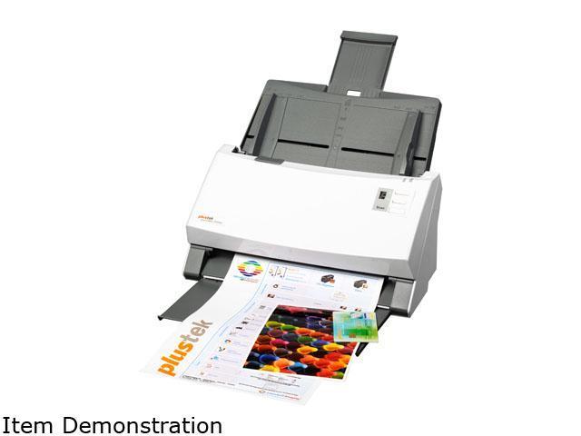 Plustek SmartOffice PS406U-G Sheet Fed Document Scanner
