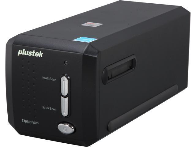 Plustek OpticFilm 8200i SE (783064365345) up to 7200 dpi USB Film and slide Scanner