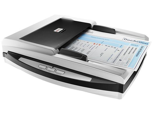 Plustek SmartOffice PN2040 (783064595094) USB Interface Flatbed Scanner