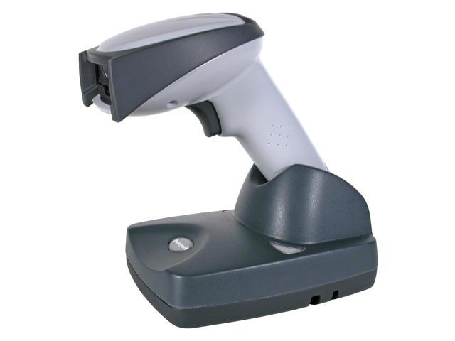 Honeywell 3820SR0C0B-0IA0E Cordless Linear Barcode Scanner - with Power Supply, Cordless Charge Base, and Coiled Cable (Ivory)
