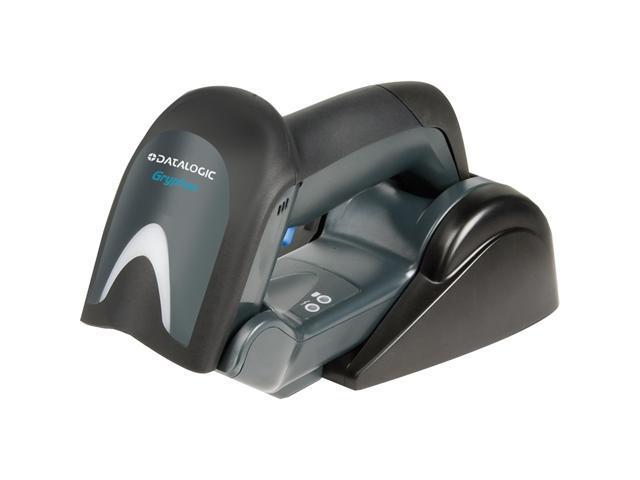 Datalogic Gryphon GBT4130-BK-BTK1 GBT4100 Kit, Scanner, Base/Charger BC4030-BK-BT, and Cable 90A052044, Black