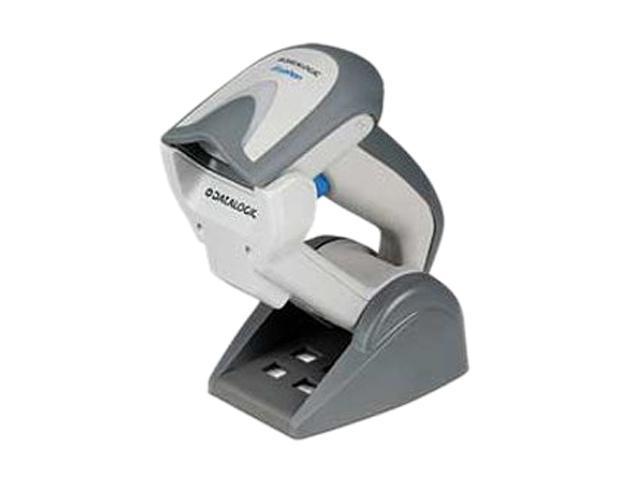 Datalogic Gryphon GBT4430-WH-BTK1 GBT4400 Kit, USB, Scanner, Base/Charger BC4030-BK-BT, and Cable 90A052065, White