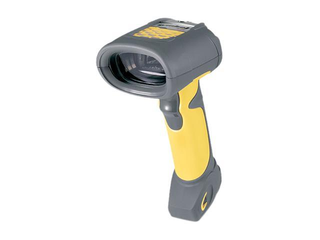 Motorola LS3408-ER20005R Barcode Scanner (Yellow) – Scanner Only