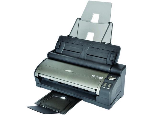 XEROX DocuMate 3115 XDM31155M-WU 24 bit 600 dpi Sheet Fed Document Scanner w/Docking Station