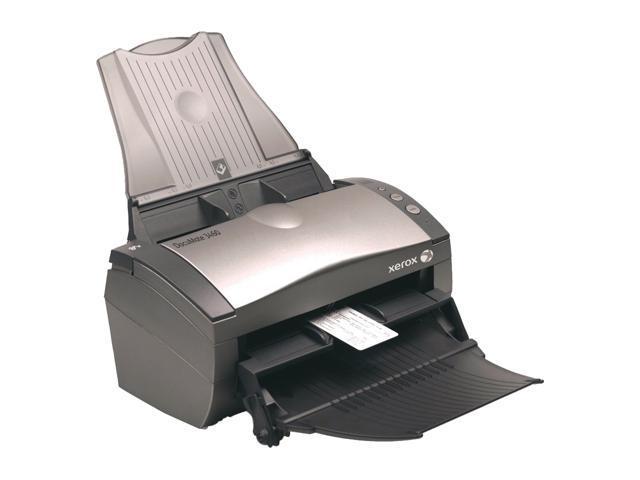 XEROX DocuMate 3460 XDM34605M-WU 24 bit CCD Sheetfed Scanner