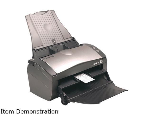 XEROX DocuMate 3460 XDM34605-WU 24 bit CCD 600 dpi Duplex Document Scanner