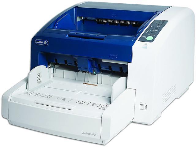 XEROX DocuMate 4799(XDM47995D-VRS/B) 24-bit color, 8-bit grayscale, 1-bit black & white 600 dpi Duplex Document Scanner