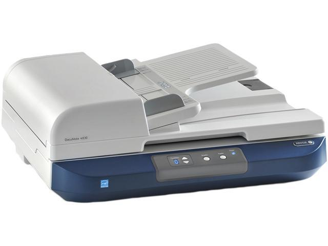 XEROX DocuMate 4830 Duplex 600 dpi USB Color Document Scanner