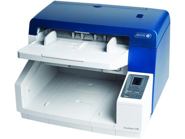 XEROX XDM47905D-VRS/B 24 bit Dual Charge-Coupled Device 600 x 600 dpi Sheet Fed Document Scanner