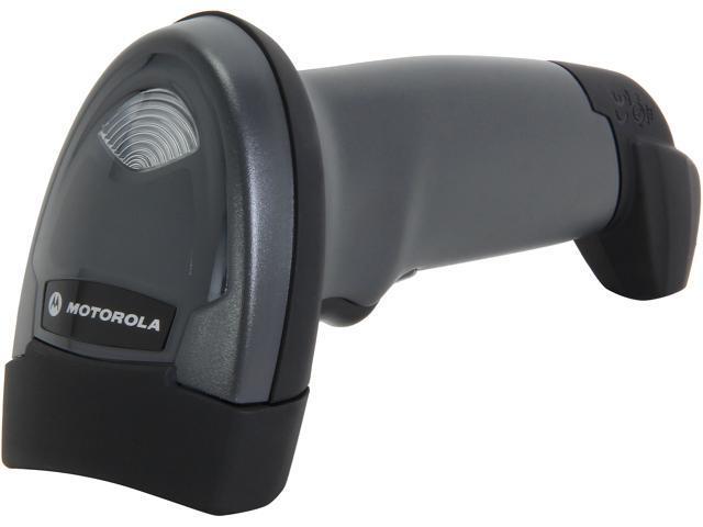 Motorola LI2208-SR7U2100AZN LI2208 Barcode Scanner, Black with USB Cable