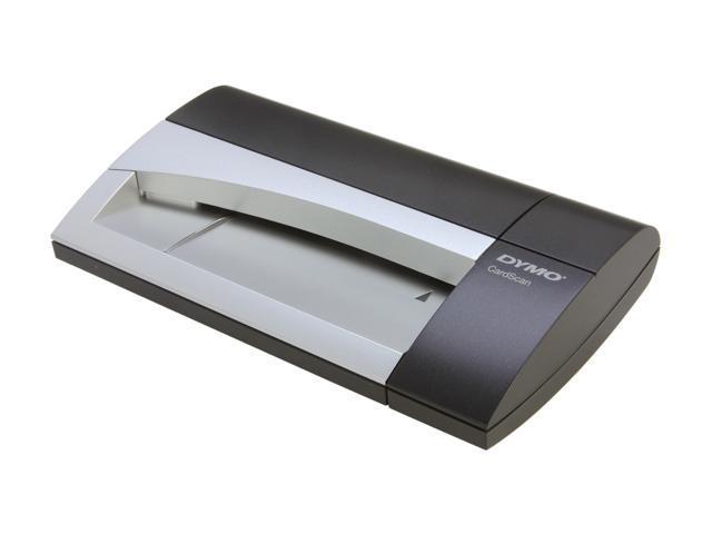 DYMO CardScan Executive V9(1760686) USB Business Card Scanner for Win/Mac - Silver/Black