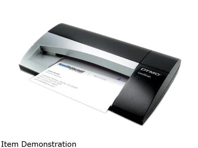 DYMO CardScan Team(1760687) USB Business Card Scanner - Silver/Black