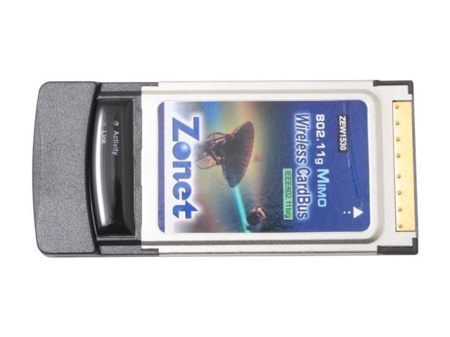 Zonet ZEW1530 MIMO Wiress PC Cardbus Adapter