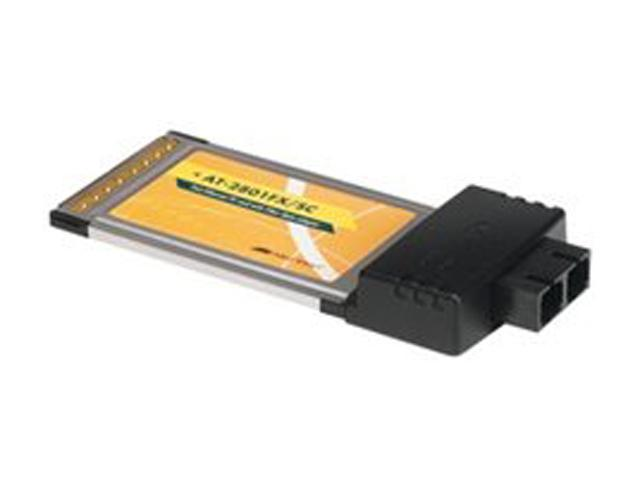 Allied Telesis AT-2801FX/ST-001 PCMCIA Fiber Adapter Card