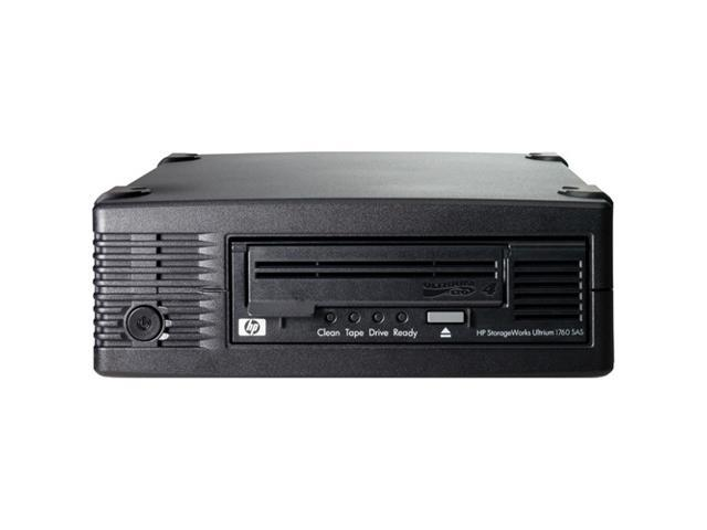 HP StorageWorks EH920SB Black 1.6TB External 3Gb/s SAS Interface LTO Ultrium 4 1760 SmartBuy Tape Drive