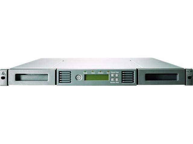 HP BL536SB 24TB Rack mount SAS 6Gb/s Interface LTO-5 Ultrium 3000 Storage Works 1/8 G2 Autoloader Bundle