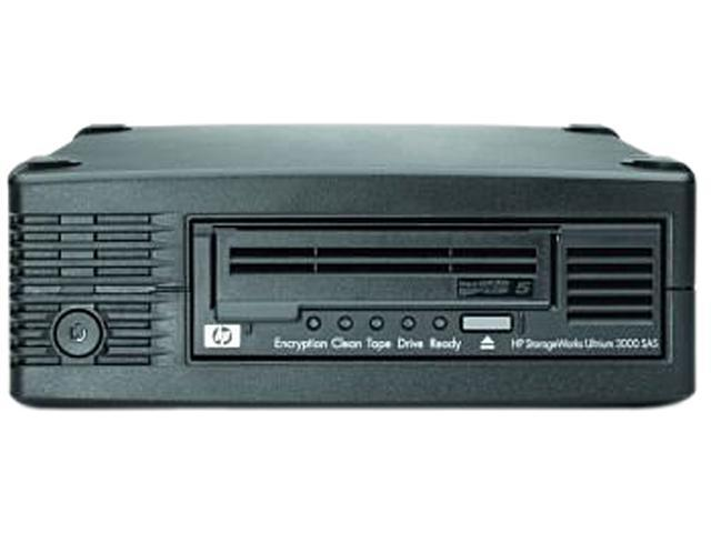 HP EH958B#ABA Black 3TB External SAS 6Gb/s Interface LTO-5 Ultrium 3000 Tape Drive