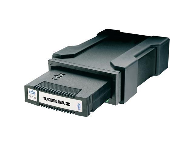 Tandberg RDX QuikStor 8628-RDX Black External USB 2.0 Interface External drive kit with 160 GB Cartridge