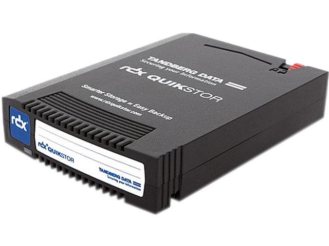 Tandberg RDX QuikStor 8723-RDX Internal USB 3.0 Interface Hard Drive Cartridge