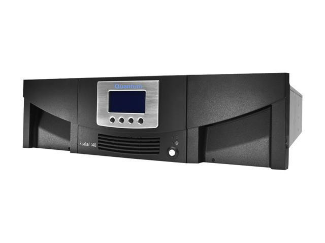 Quantum LSC14-CH4G-219H LTO Ultrium 4 Library, two LTO-4 tape drive, 25 slots
