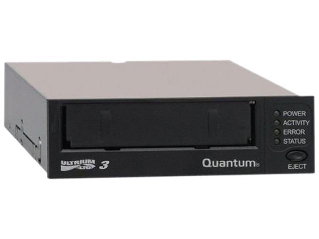 Quantum TC-L32AN-EY-B Black 800GB LTO Ultrium 3 Tape Drive, Half Height, Model B, Internal Kit