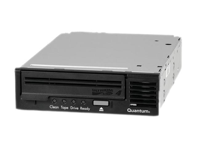 Quantum TC-L42BX-EY-B-MB Black 1.6TB Internal LVD Ultra320 SCSI Interface LTO Ultrium 4 Tape Drive W/ Qty2 MR-L4MQN-01 Tape Cartridge