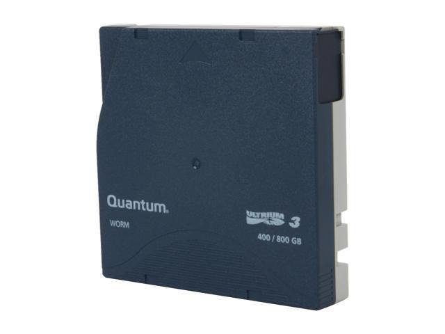 Quantum MR-L3MQN-02 400/800GB LTO Ultrium 3 WORM Tape Media 1 Pack