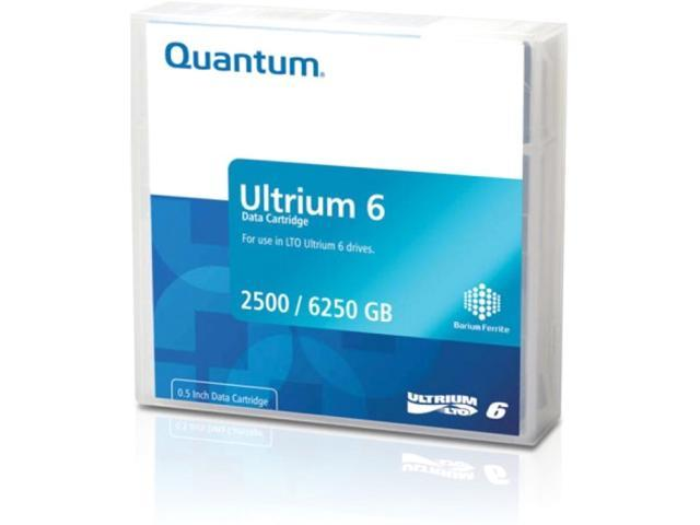 Quantum LTO6 WORM DATA CARTRIDGE 2.5 / 6.25 TB (MR-L6MQN-02)
