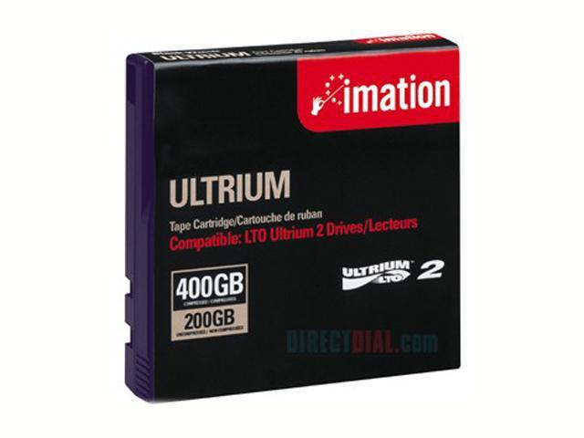 imation 27694 200/400GB LTO Ultrium 2 Data Media 1 Pack