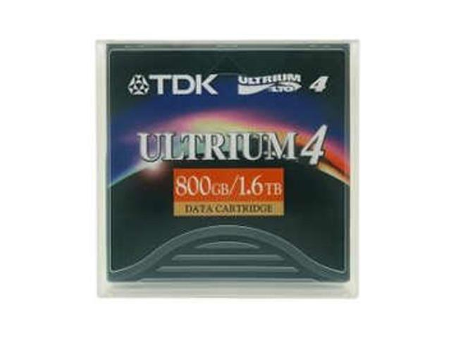 TDK 48989 800/1600GB LTO Ultrium 4 Tape Media 1 Pack