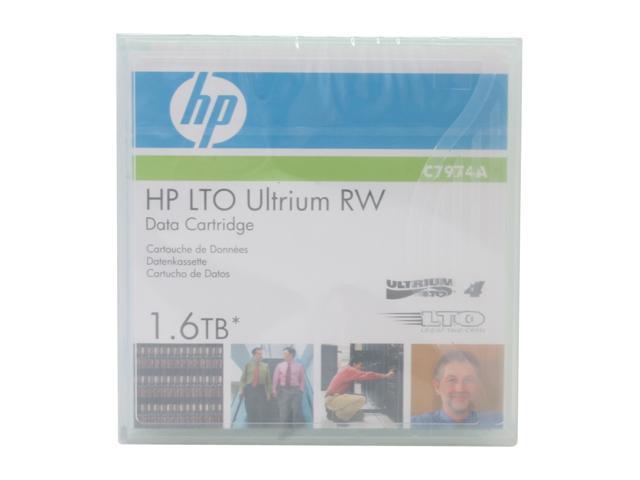 HP C7974A 800/1600GB LTO Ultrium 4 Tape Media 1 Pack