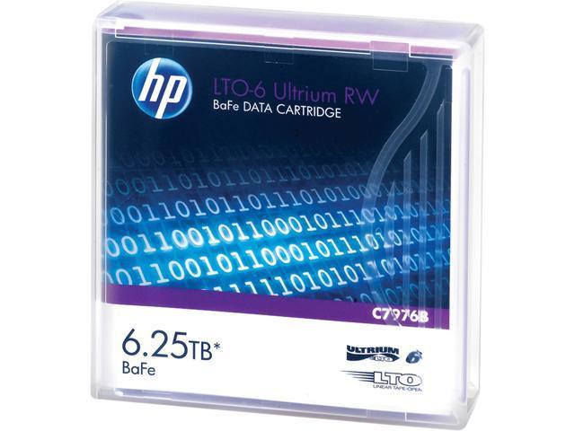 HP LTO-6 Ultrium 6.25 TB BaFe RW Data Cartridge