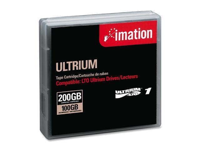 imation 41089 100/200GB LTO Ultrium 1 Tape Media 1 Pack