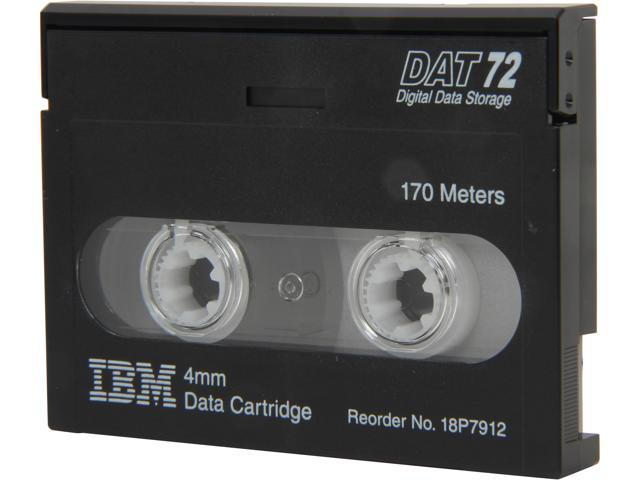 IBM 18P7912 36/72GB DAT72/DDS-5 4MM 170M Data Tape Media 1 Pack