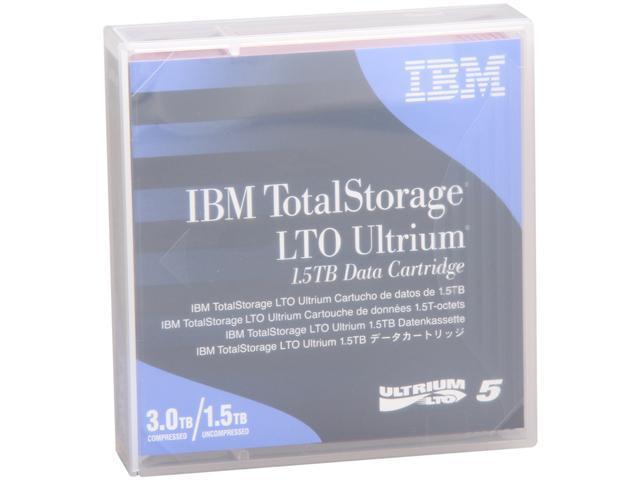 IBM 46X1290 1.5/3.0TB LTO Ultrium 5 1.5 TB Data Cartridge 1 Pack